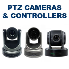 PTZ Cameras & Controllers